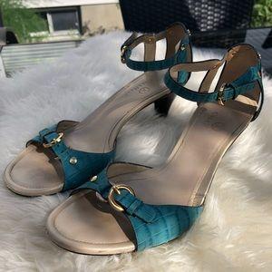 🚨2/$20🚨Cole Haan ocean blue sandals